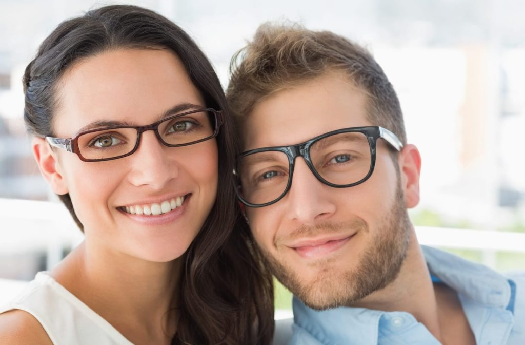 Look your best with glasses that match you!